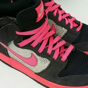 NIKE DUNK HIGH SPARKLE 7.5